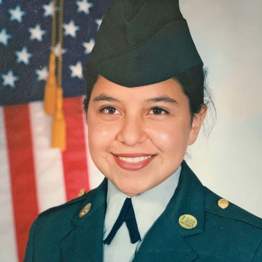 Dinah in the U.S. Army