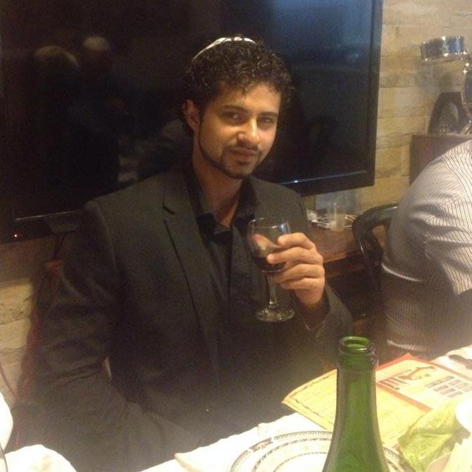 Sahar in his 20s