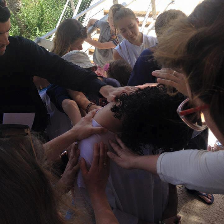 Sahar's baptism
