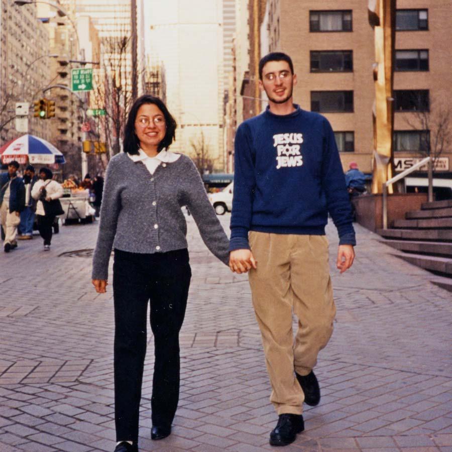 Dan and Dinah in New York