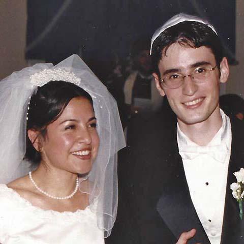 Dan and Dinah wedding