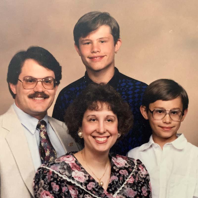 Stout family, 1992