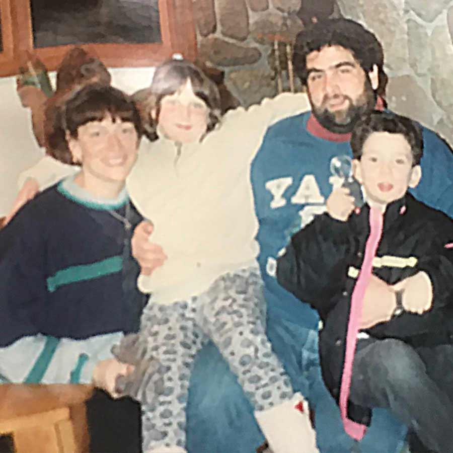 Stewart and Shoshannah with their children