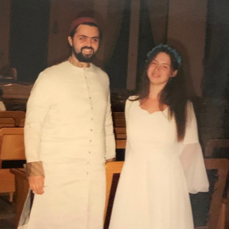 Yoel and Adel in their Haredi years