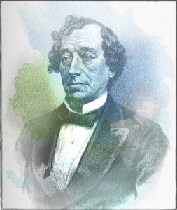 Painting of Benjamin Disraeli
