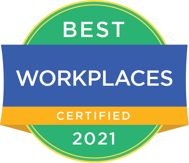 Best Workplaces Certified 2021