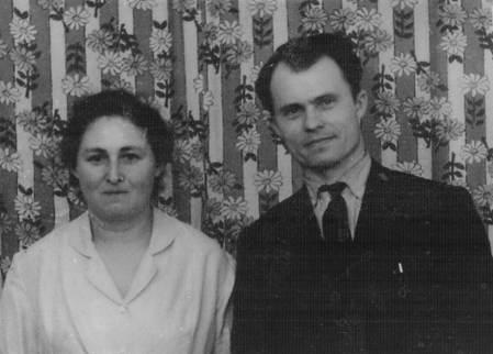 Zinaida with her husband