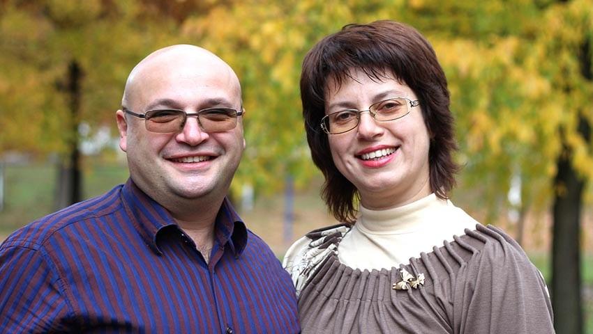 Leonid and Natasha Krouter
