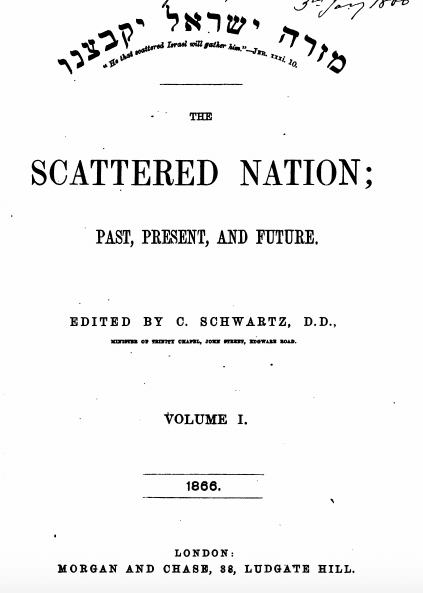 The Sacred Nation by Carl Schwartz